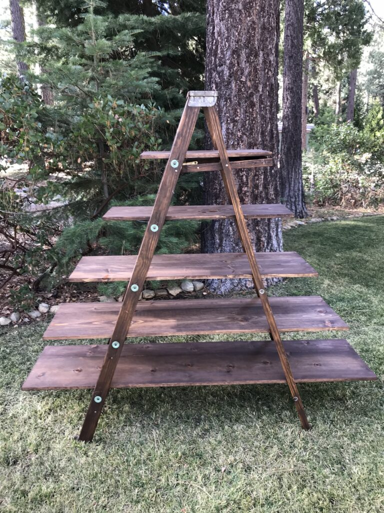 Ladder shelLadder shelf-$35