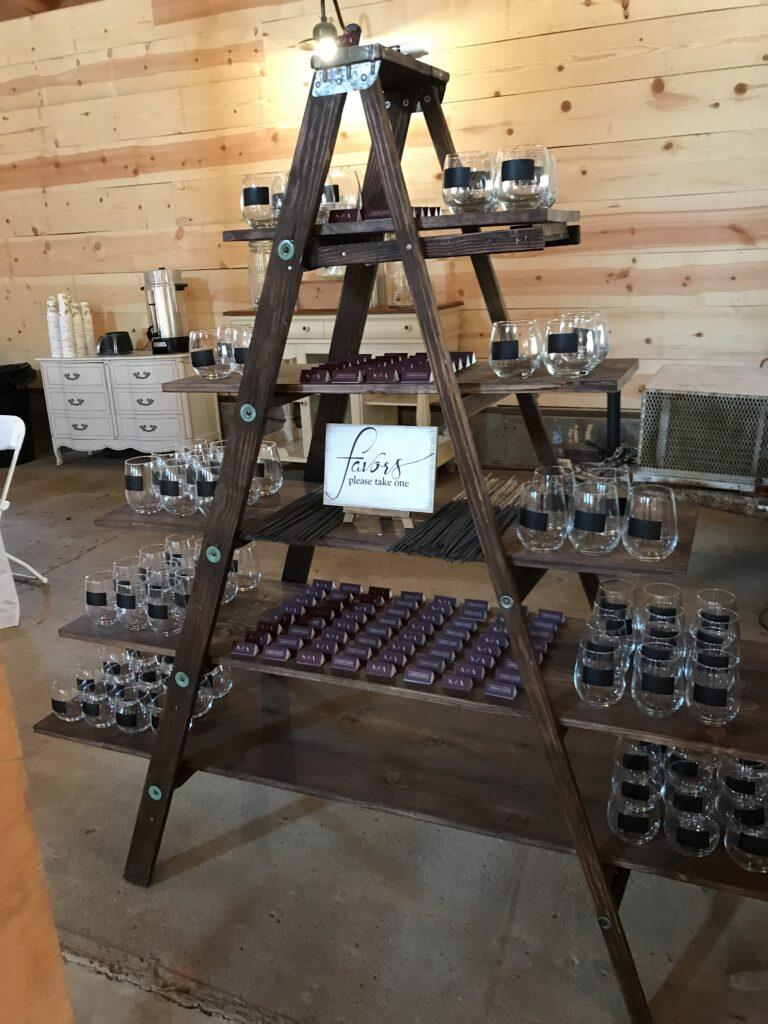 Ladder shelf-$35