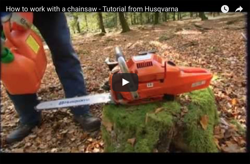 how-to-work-chainsaw-tutorial-husqvarna