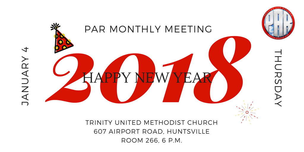 PAR 2018-01 Monthly Meeting
