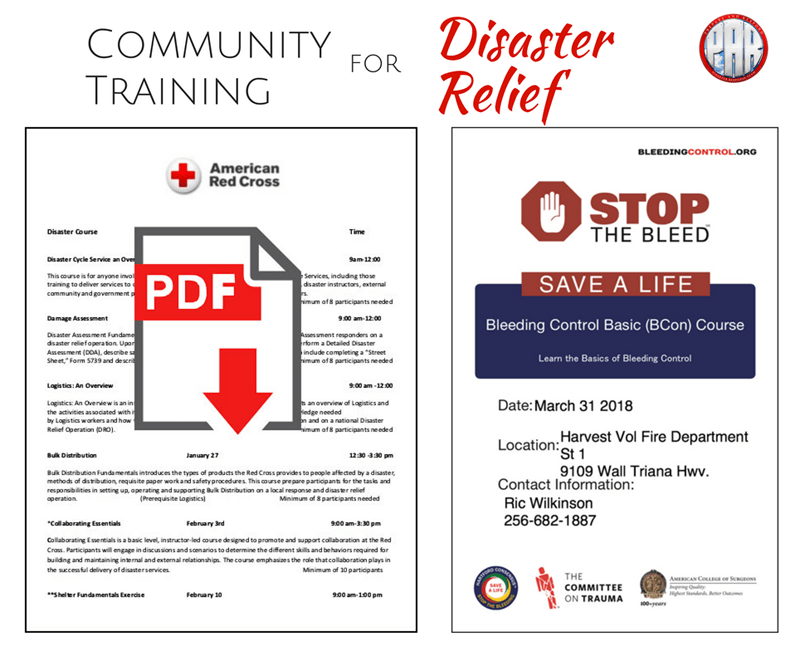 Community Training Red Cross