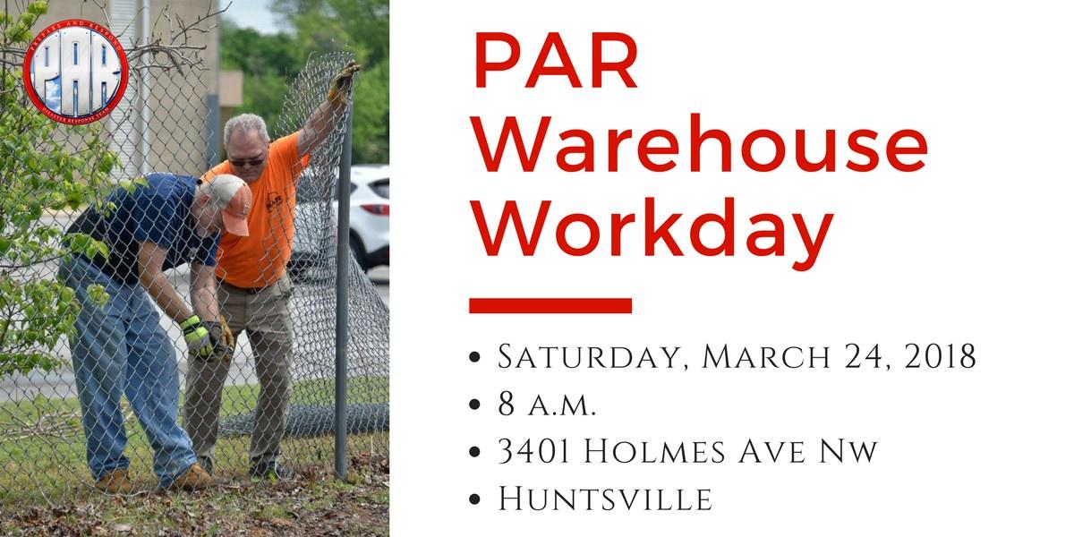 PAR Warehouse Workday 2018-03-24
