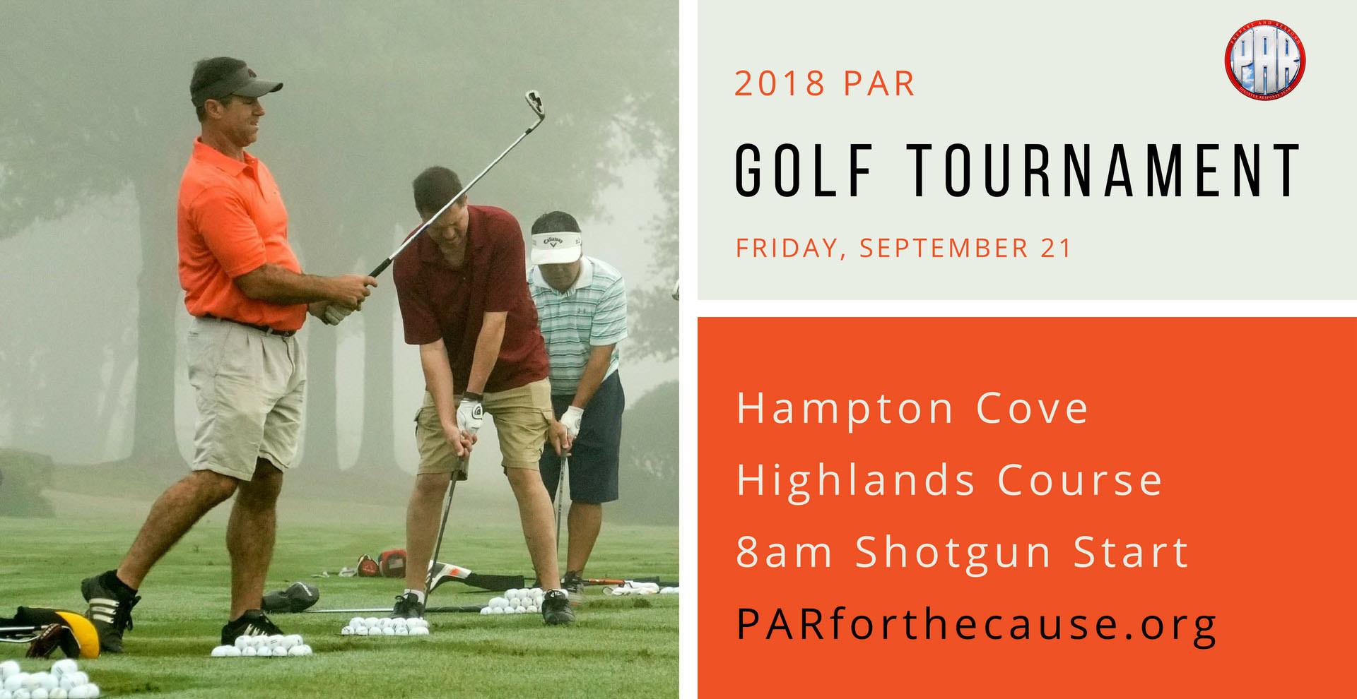 2018 PAR Golf Tournament-banner