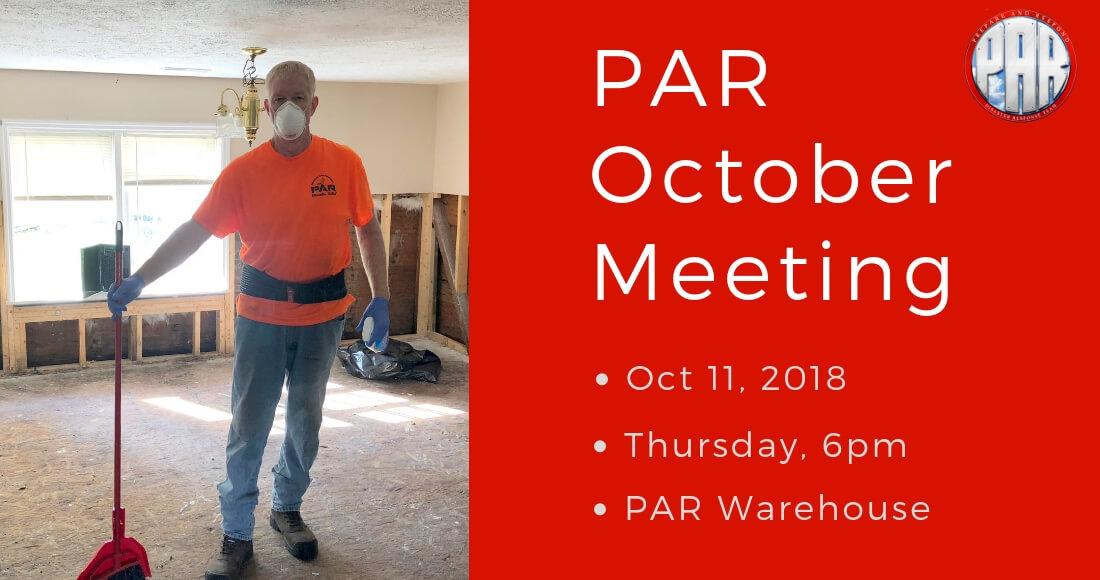 PAR Meeting 2018-10