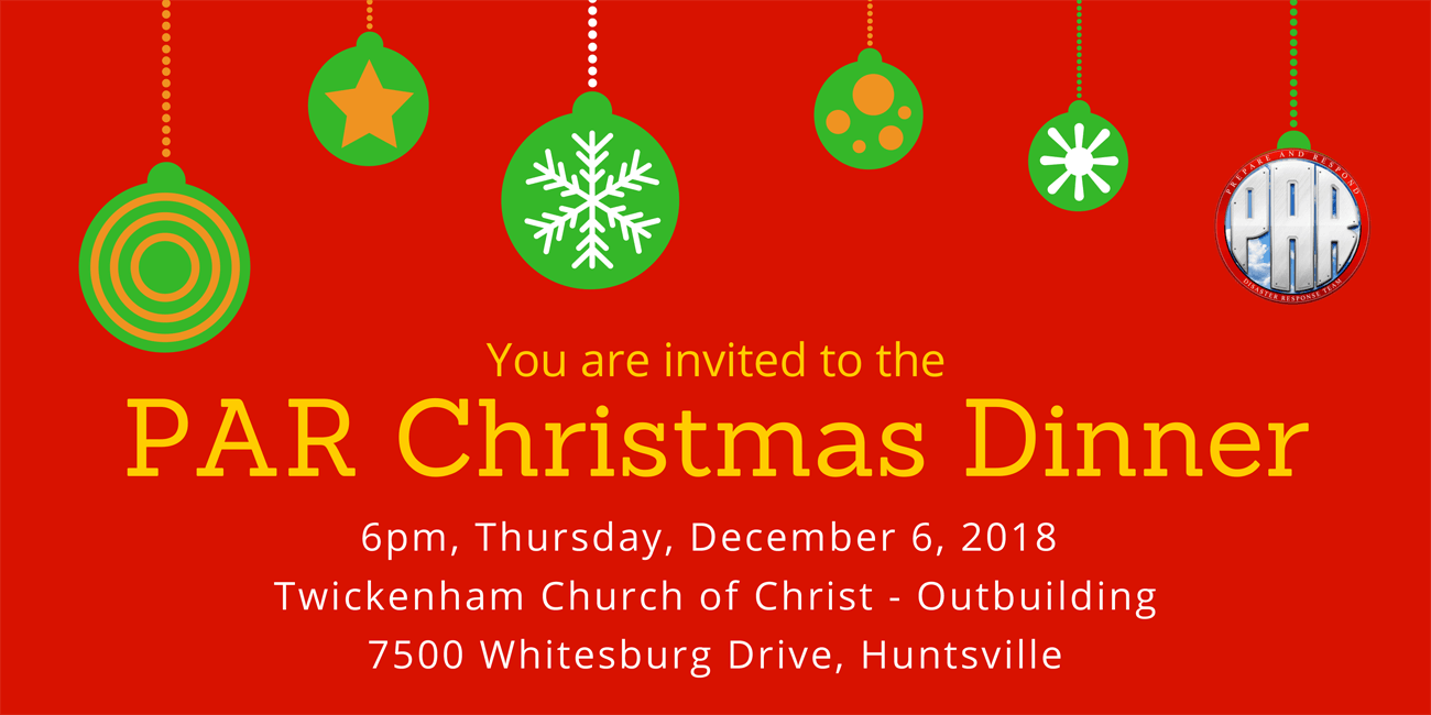 2018-PAR Christmas Dinner
