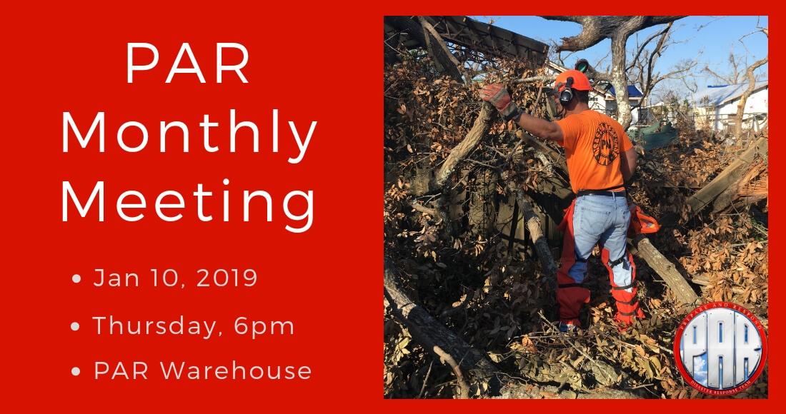 PAR Meeting 2019-01