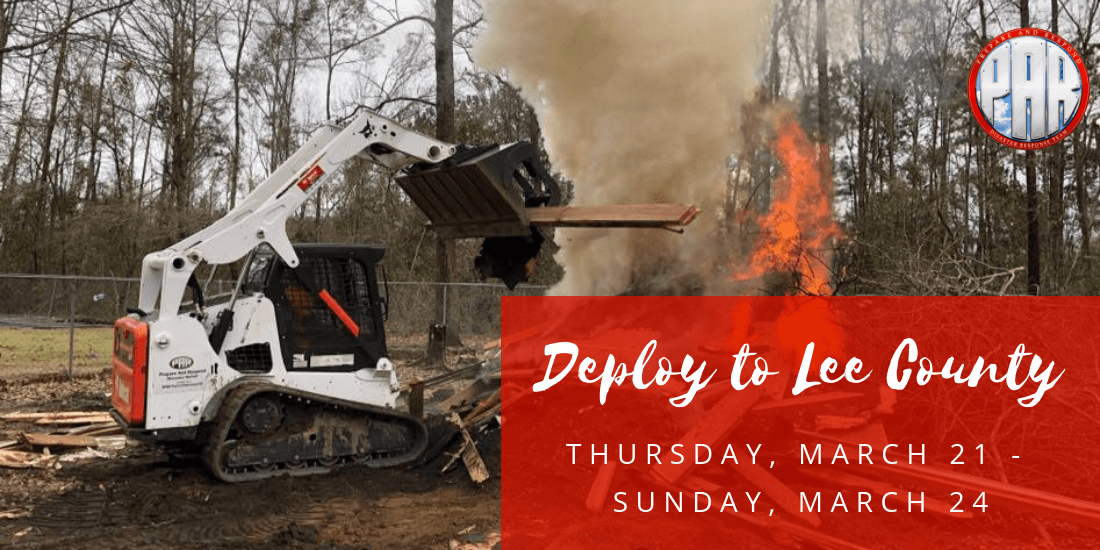 Deploy to Lee County