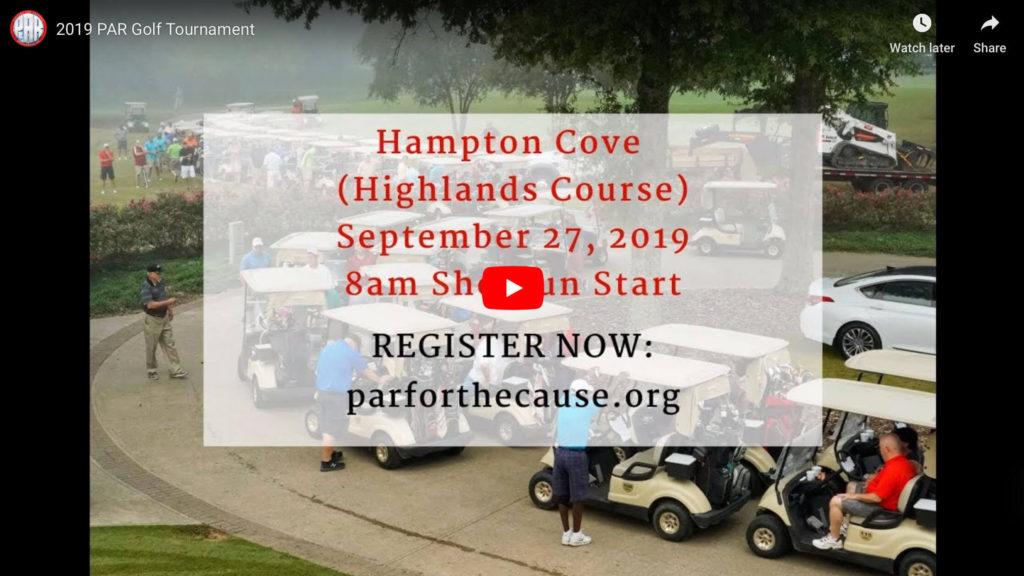 2019 PAR Golf Tournament Video