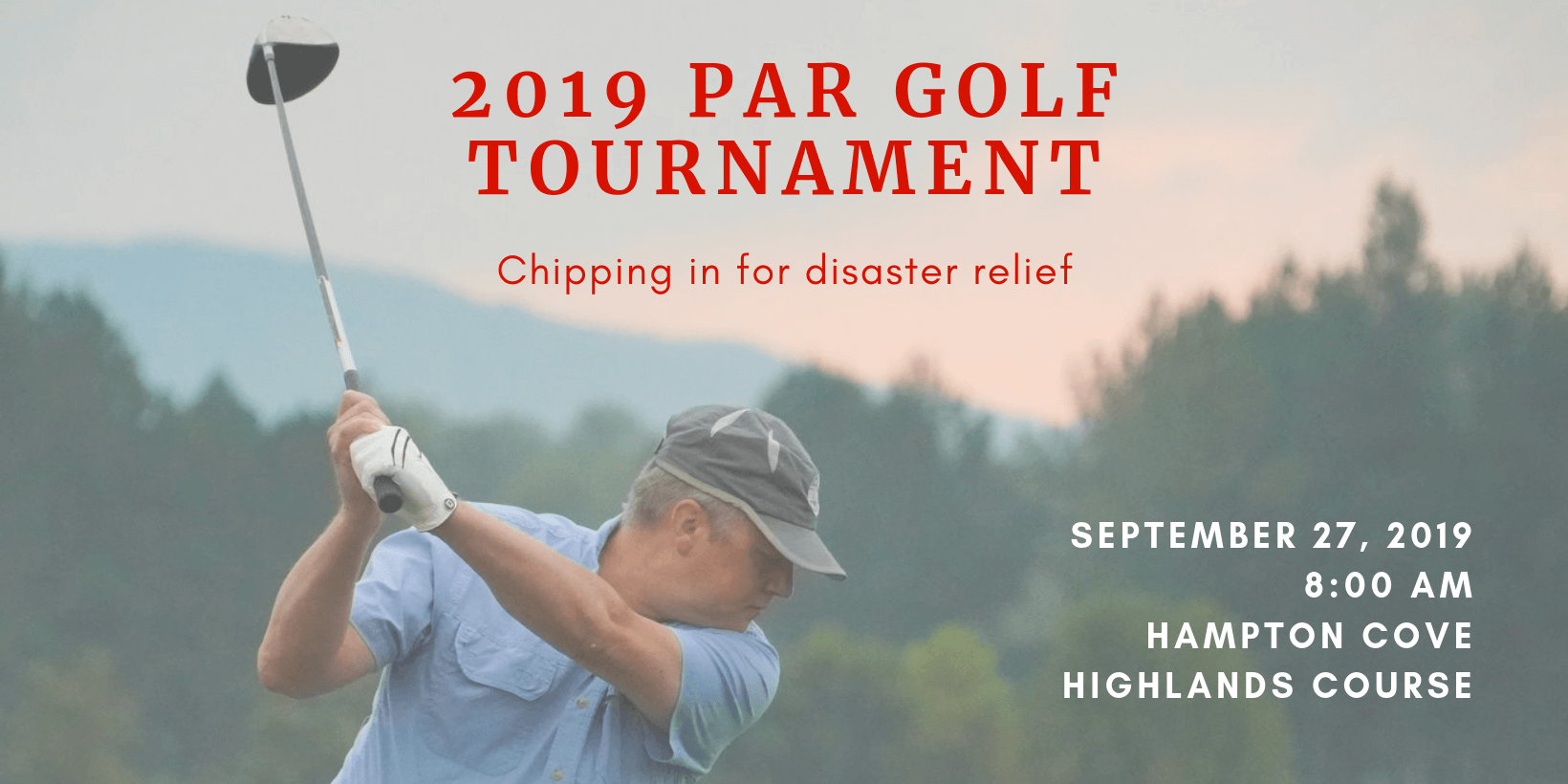 2019 PAR Golf Tournament