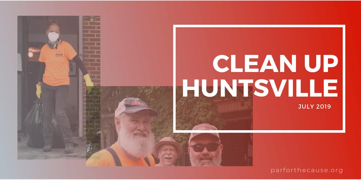 clean up huntsville