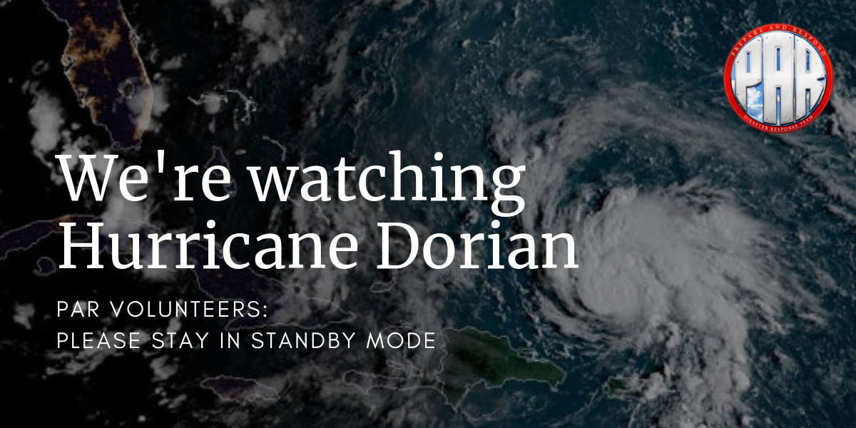 Hurricane Dorian watch