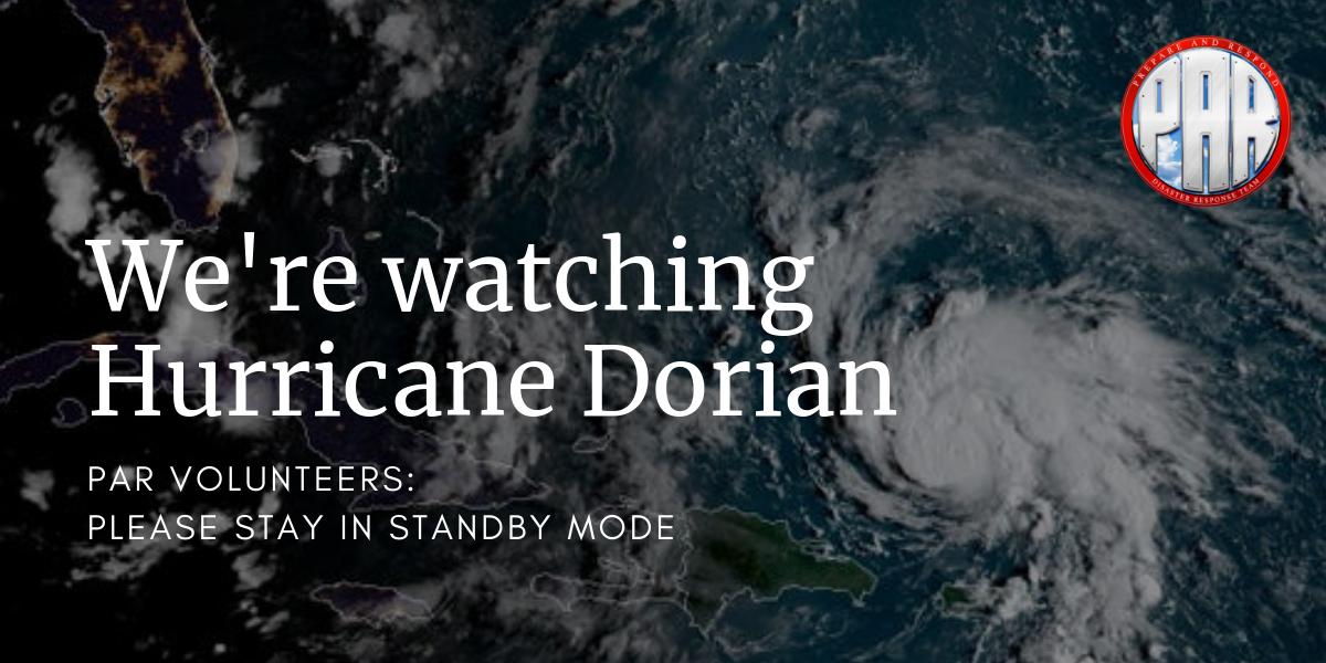 Hurricane Dorian watch