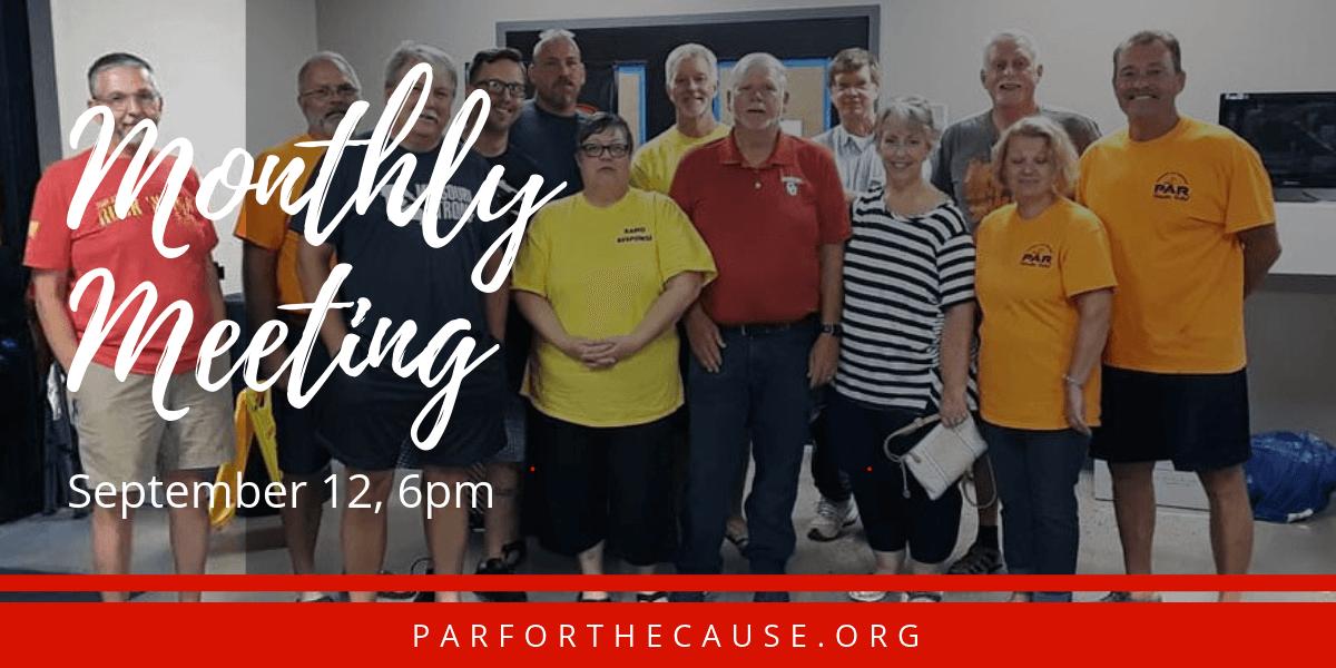 PAR September 2019 Meeting