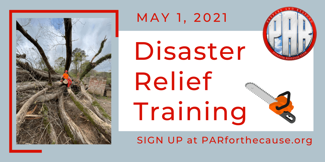 Disaster Relief Training May 2021