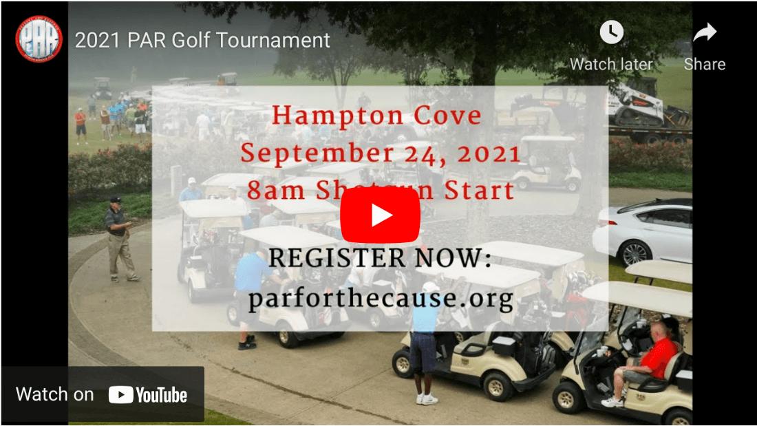 2021 PAR Golf Tournament Video