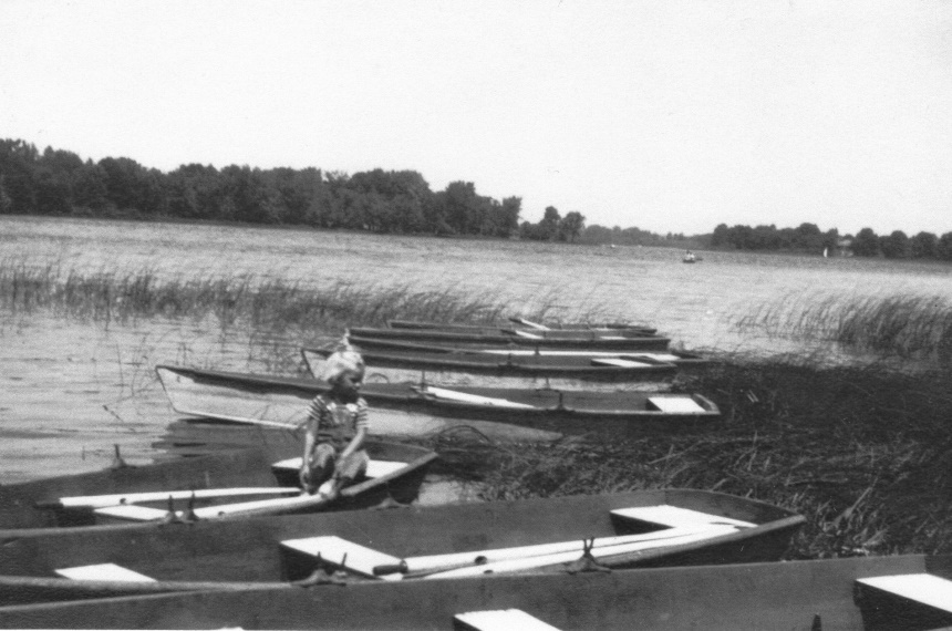 This is a view of the lake as seen from Point Pleasant in the 1920s.