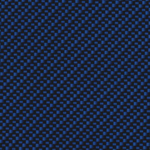 Wisconsin Hydrographics Black and Blue Carbon Fiber film