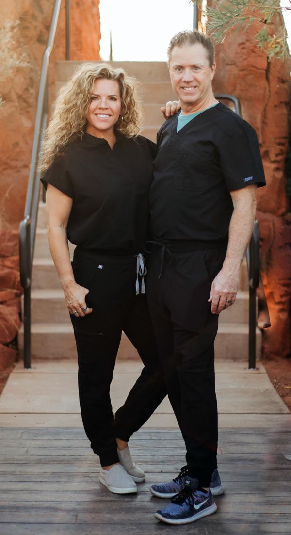 eric evans and shannon evans desert sands ketamine treatment center