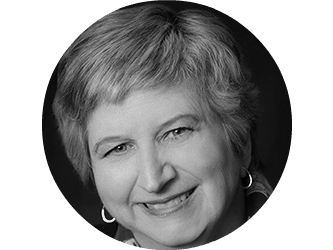 Black and white headshot of Debbie Bush