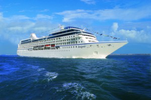 Oceania Cruises Insignia ship at sea