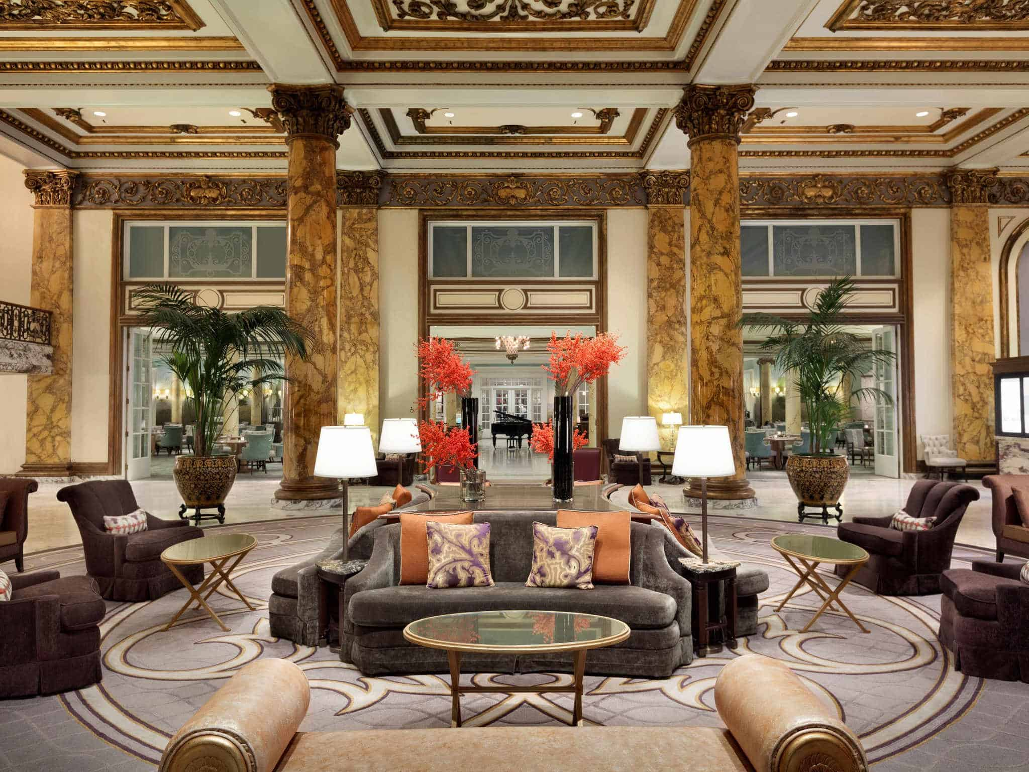 Fairmont San Francisco lobby view