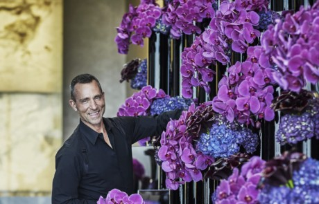 Four Seasons Philadelphia fresh flowers from Artistic Director Jeff Leatham
