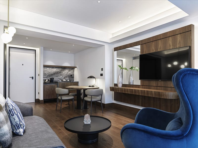 Interior room at Athens Capital Center Hotel - MGallery Collection