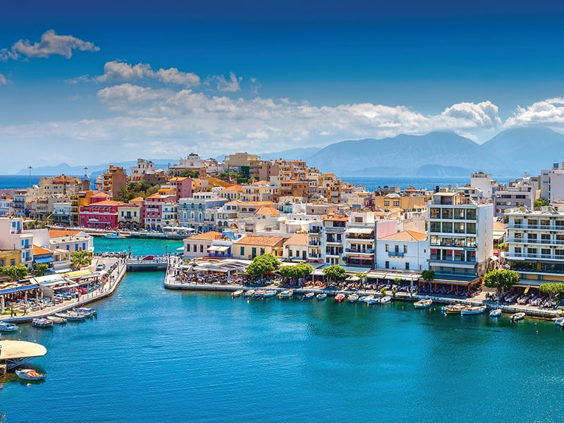 Seabourn photo of Greece on the water.