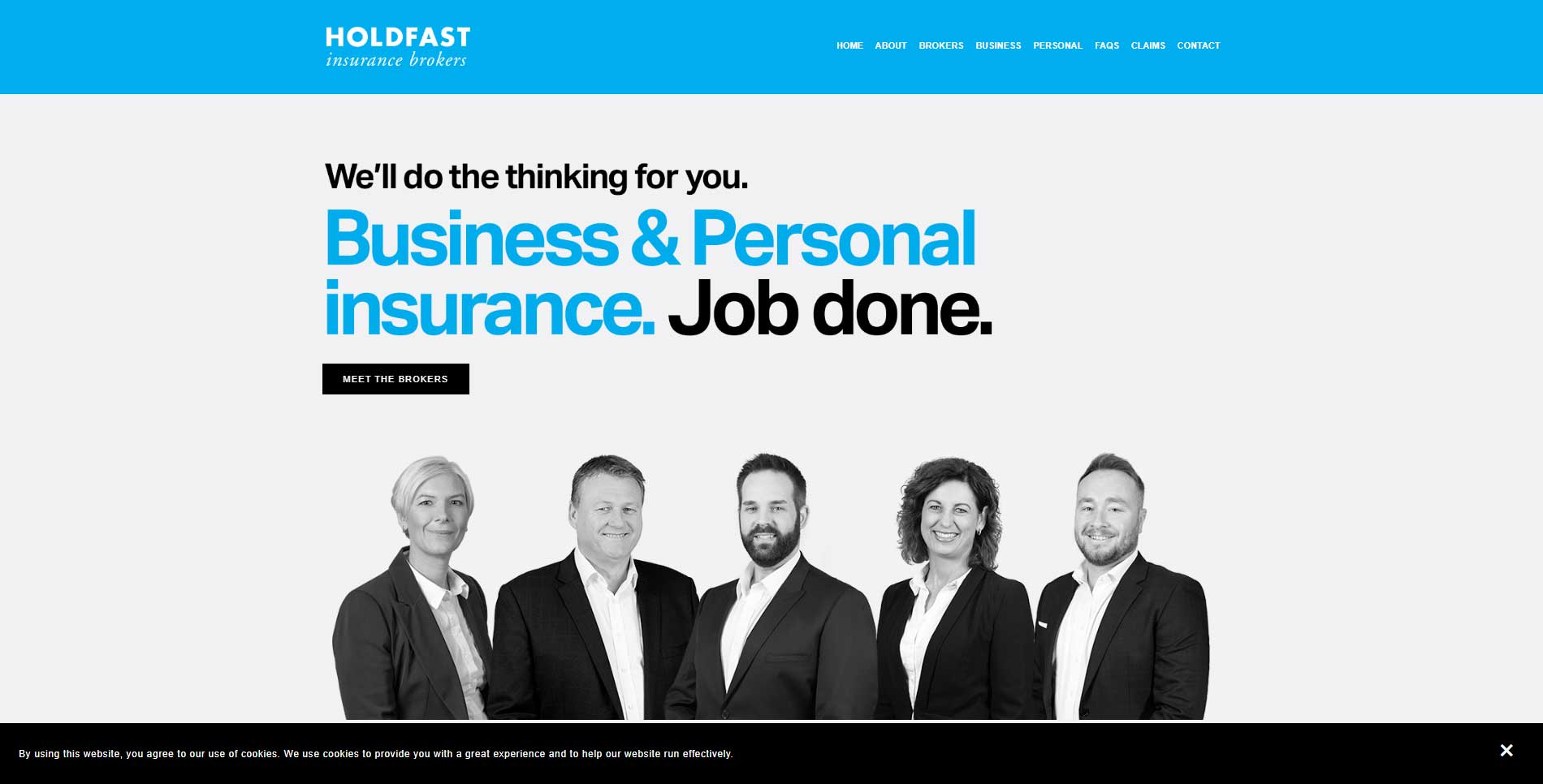 Holdfast Insurance Brokers Marketing