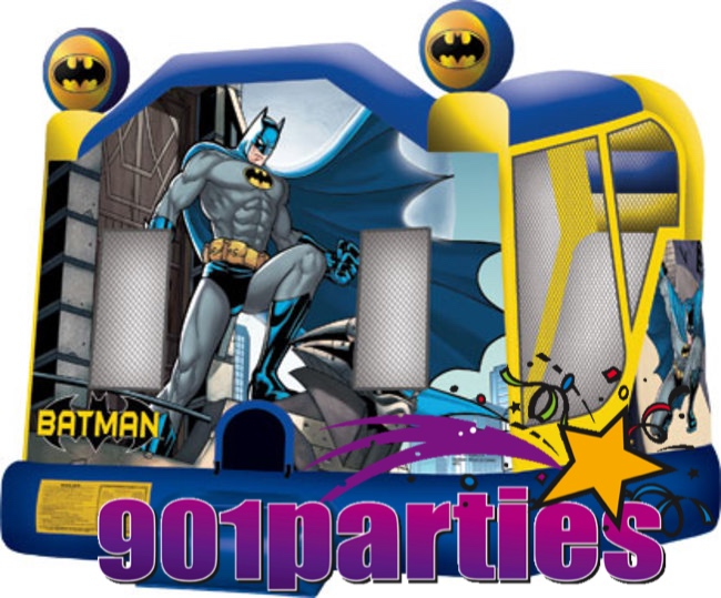 $300 - 901PARTIES DINING AND CATERING MEMPHIS BATMAN BOUNCER WATERSLIDE COMBO RENTAL 901-878-9386