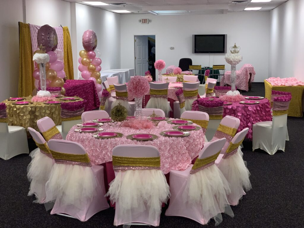 SAMPLE KID'S PRINCESS THEME BIRTHDAY PARTY DECORATIONS AT 901PARTIES IN MEMPHIS