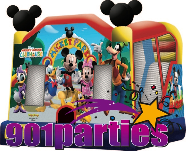 901PARTIES DINING AND CATERING MEMPHIS BOUNCER WATERSLIDE COMBO RENTAL 901-878-9386