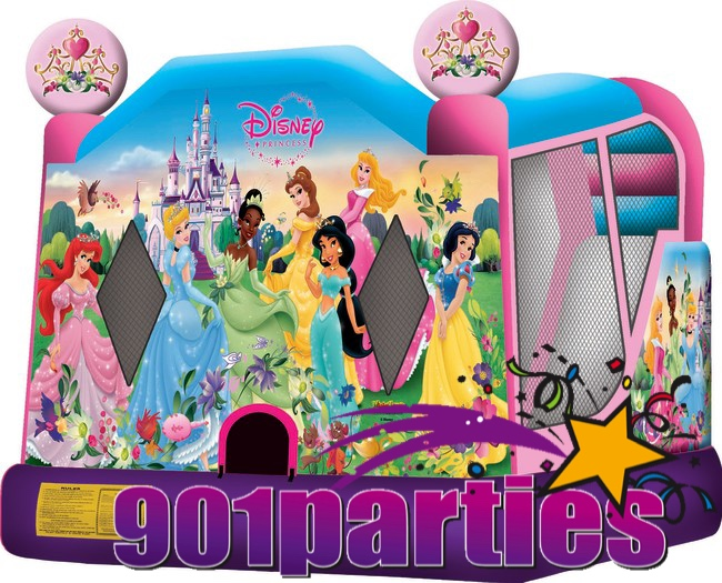 $300 - 901PARTIES DINING AND CATERING MEMPHIS DISNEY PRINCESS BOUNCER WATERSLIDE COMBO RENTAL 901-878-9386