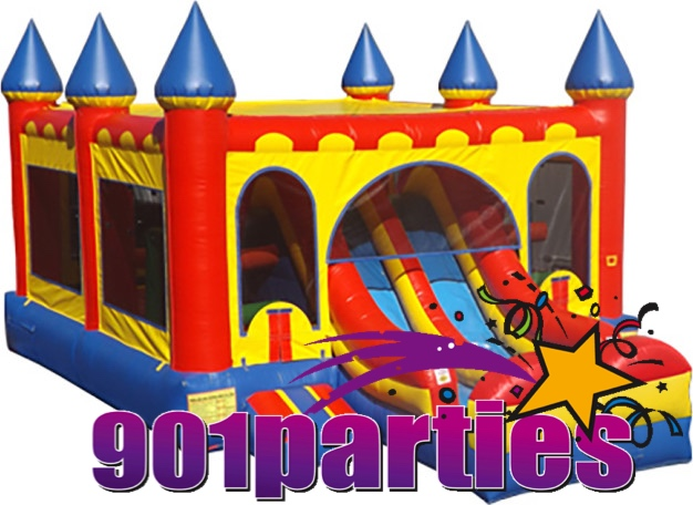 $300 901PARTIES DINING AND CATERING MEMPHIS BOUNCER DRY SLIDE COMBO RENTAL 901-878-9386