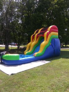 $250 - 901PARTIES MEMPHIS 15-16 FT TRADITIONAL WATERSLIDE