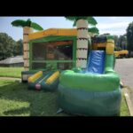 FRONT LOADING TROPICAL BOUNCE WATERSLIDE COMBO 6 HOUR RENTAL / $250 / $75 NON REFUNDABLE DEPOSIT
