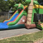 SIDE EXIT TROPICAL BOUNCE WATERSLIDE COMBO 6 HOUR RENTAL / $250 / $75 NON REFUNDABLE DEPOSIT