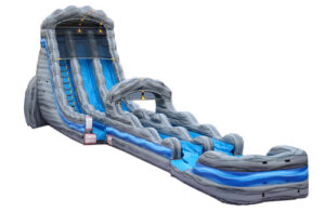 $575 - 24' 901PARTIES MEMPHIS - 24' WHITEWATER FALLS DUAL LANE WITH SLIP N SLIDE RENTAL IN MEMPHIS