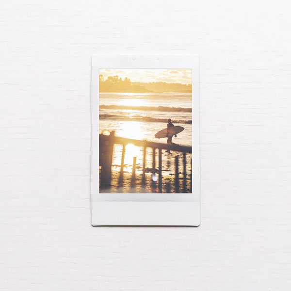 Retro Polaroid Photo Template