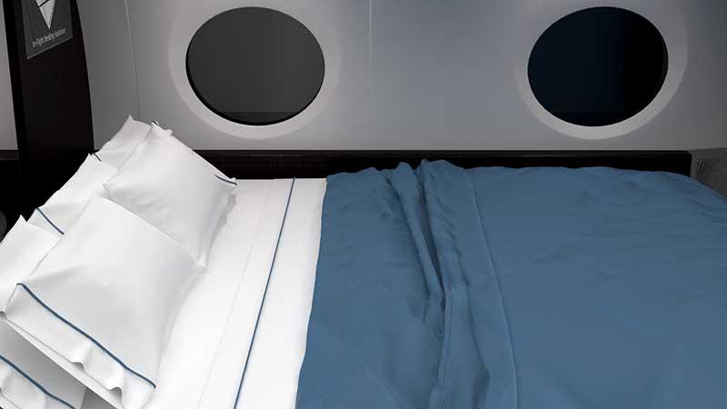 Dual Divan Mattress With Bedding