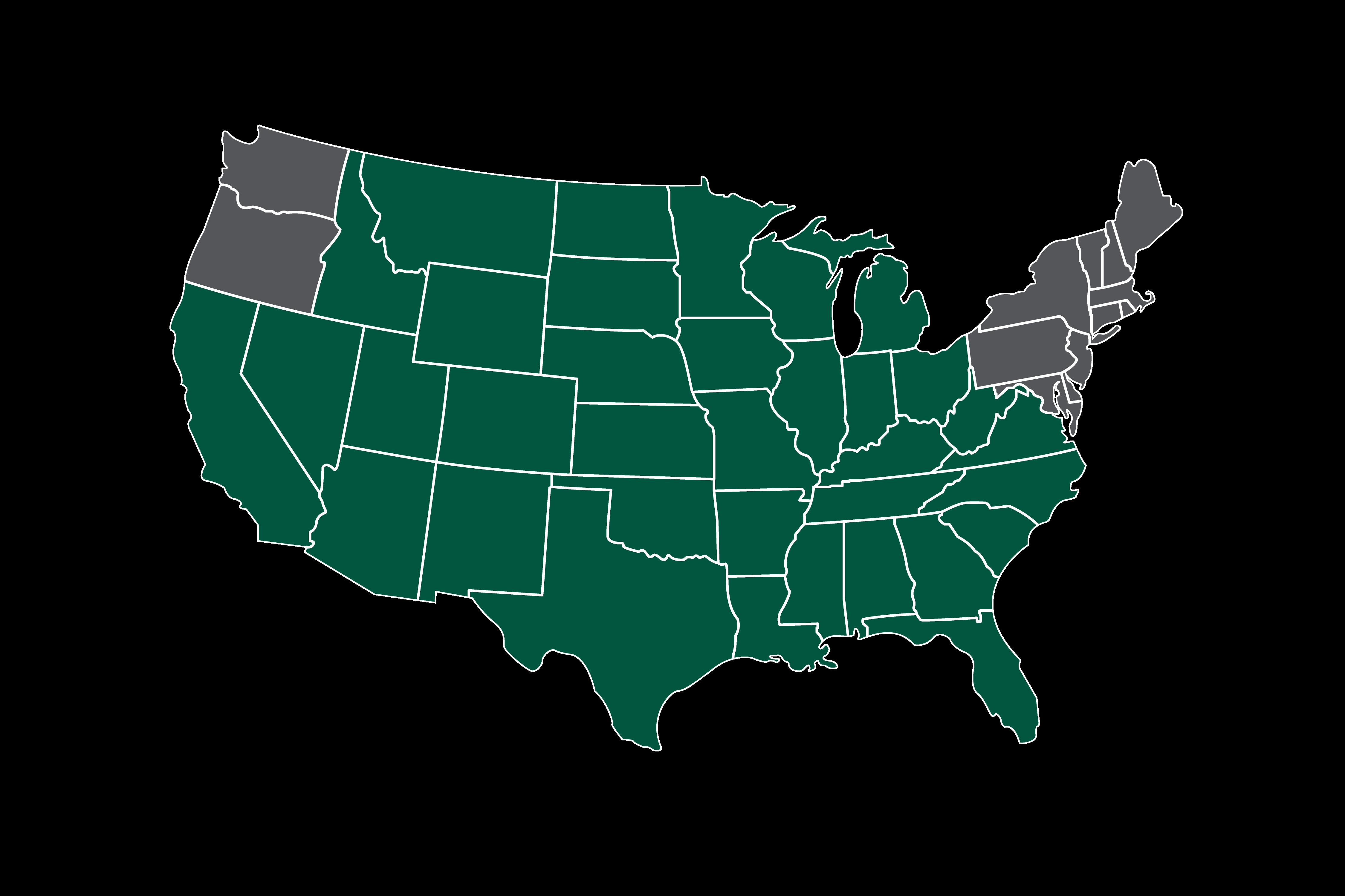 Kramer Trucking map