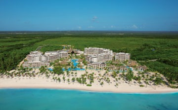 Secrets Cap Cana Golf Resort 2-aerial view of resort