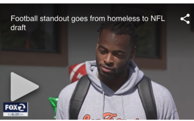 NFL 1st-round draft pick Najee Harris returns to Richmond homeless shelter where he once lived