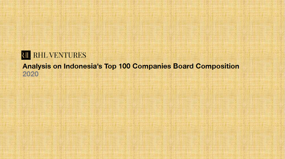RHL's Analysis Of The Board Composition Of Indonesia's Top 100 Companies
