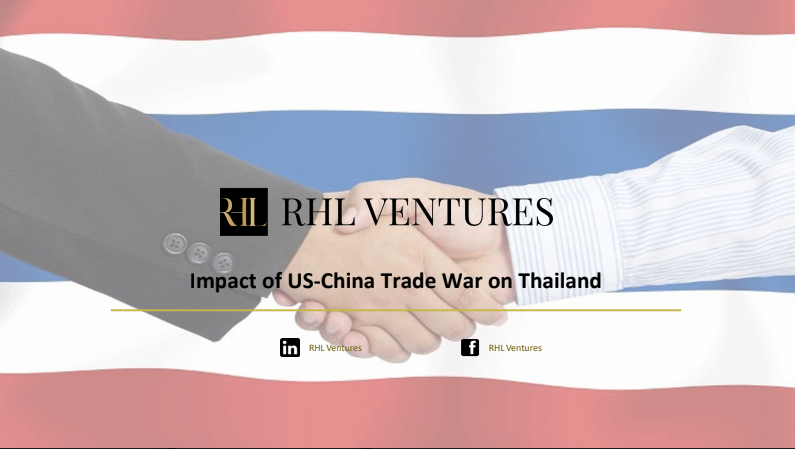 The Impact of US-China Trade War on Thailand