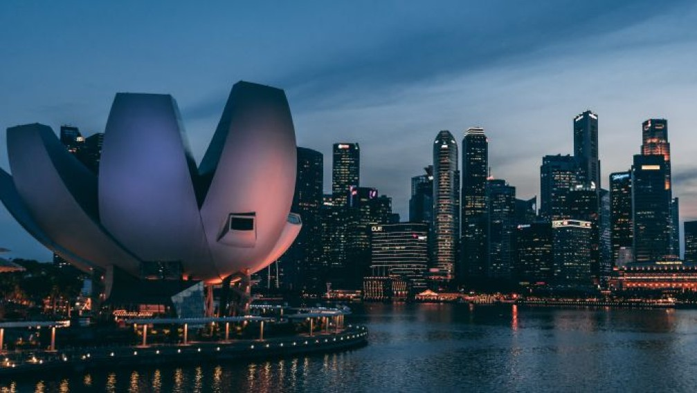 How can Singapore benefit from the US-China trade war?