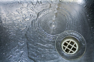 drain needing drain cleaning in charleston & mount pleasant