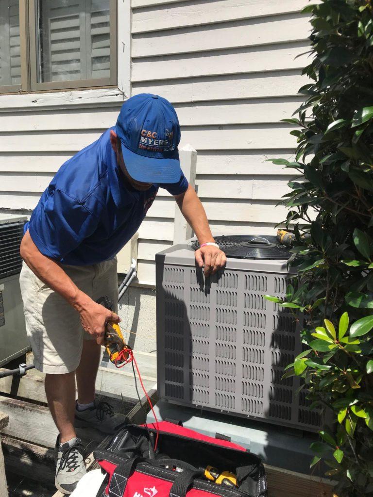 air conditioner repair technician mount pleasant