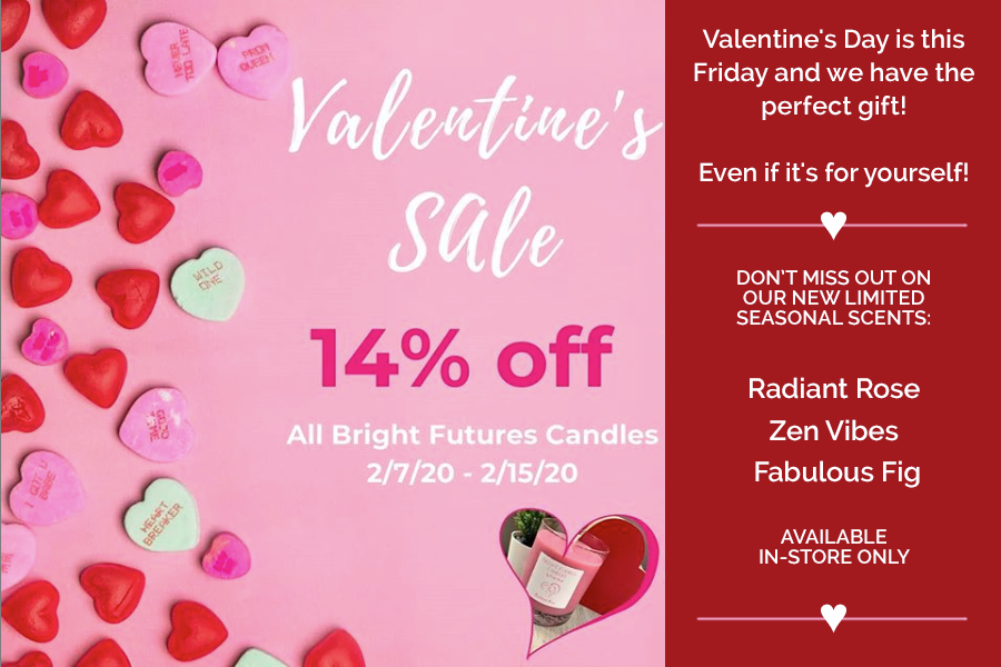 Bright Futures Candles Valentines Special