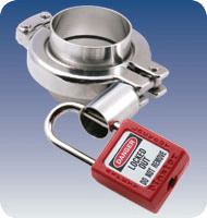 Sanitary Fittings: Safety Sanitary Clamp, Series Lockout